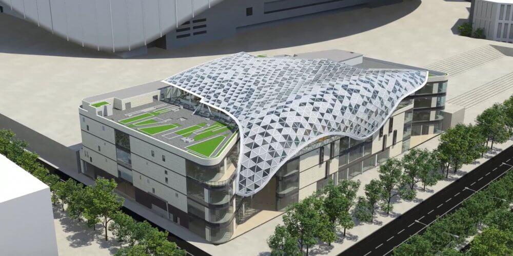 maquette 3D immeuble