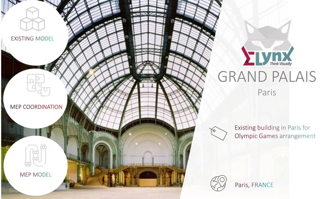 PHOTO intérieur du Grand Palais à Paris