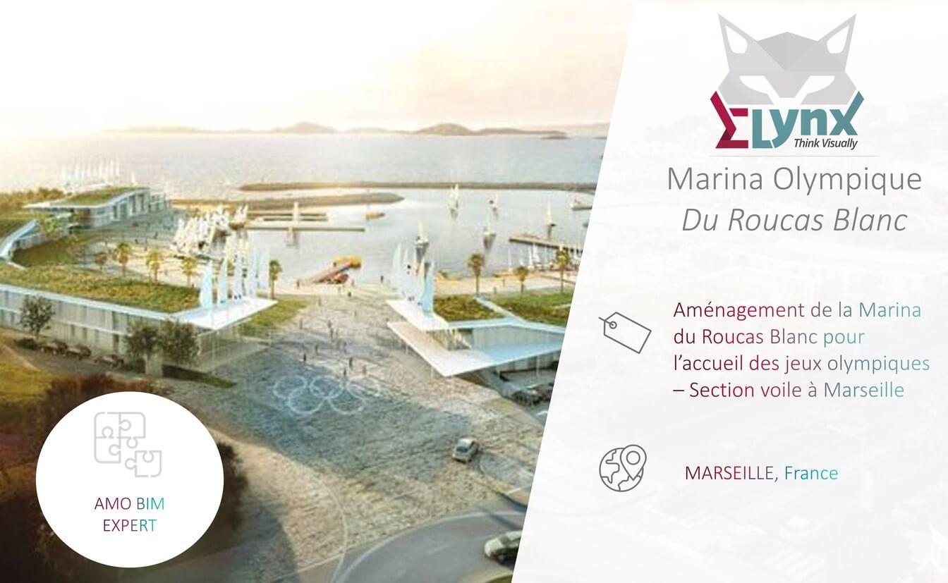 rendu 3D Marina Olympique à Marseille